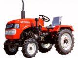 Трактор Уралец 220C экскаватор